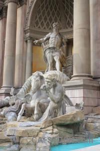 Statue figure.
