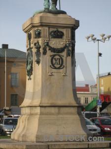 Statue structure.