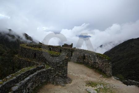 Stone andes inca sayaqmrka cloud.