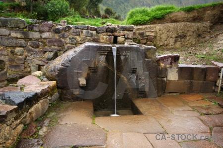 Stone andes sacred valley peru urubamba.