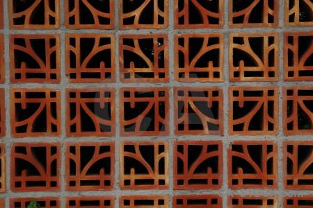 Stone brown orange red texture.