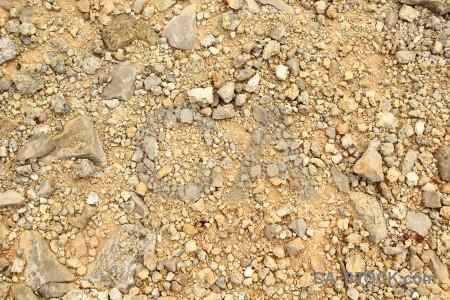 Stone brown texture gravel.