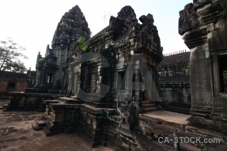 Stone carving cambodia siem reap khmer.