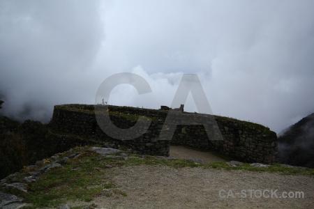 Stone inca trail andes peru altitude.