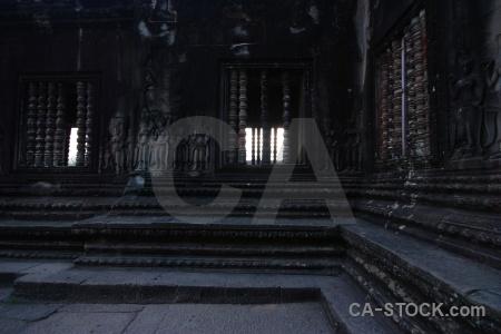 Stone khmer angkor wat southeast asia buddhist.