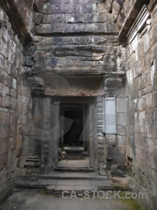 Stone lichen chau say tevoda temple khmer.