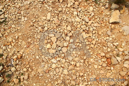 Stone orange gravel texture brown.