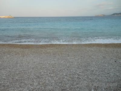 Stone sea europe sky water.