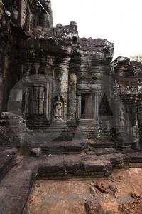 Stone southeast asia banteay kdei unesco cambodia.