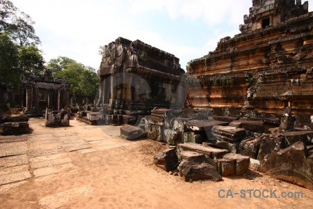 Stone ta keo angkor buddhism asia.