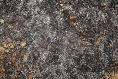 Stone texture burnt montgo fire javea.