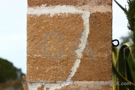 Stone texture white brown.