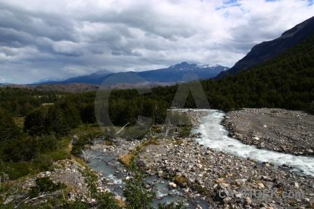 Stone trek sky patagonia chile.