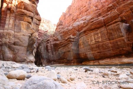 Stone western asia wadi arnon sky.