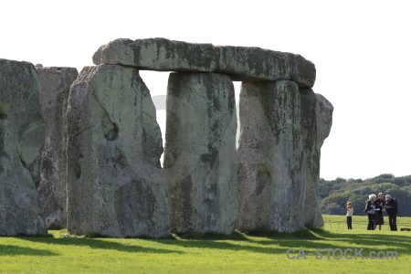 Stonehenge england person rock europe.