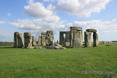 Stonehenge england white wiltshire green.