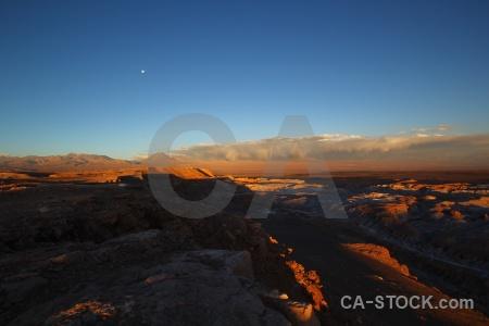 Stratovolcano volcano moon chile licancabur.