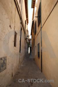 Street granada alley building spain.