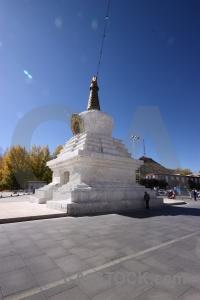 Stupa east asia china altitude lhasa.
