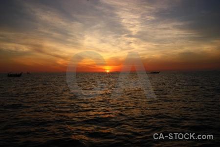 Sun asia phi island sky sunrise.