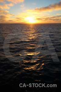 Sun day 4 water sunset antarctica cruise.