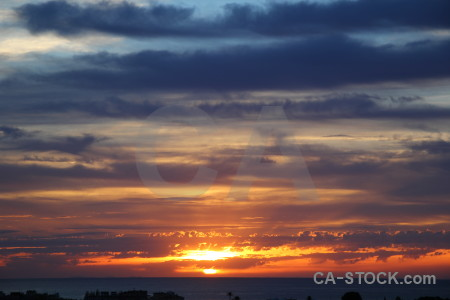 Sun europe cloud javea sunset.