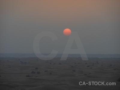 Sun sand desert middle east dubai.