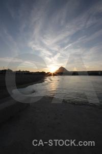 Sun sunrise mountain sea sunset.