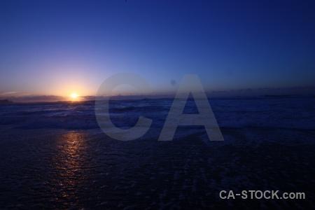 Sun sunset west coast sunrise beach.