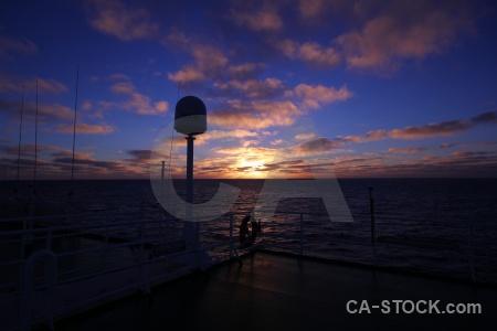 Sunrise antarctica cruise sky day 4 sunset.