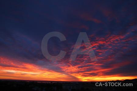 Sunrise cloud javea spain sunset.
