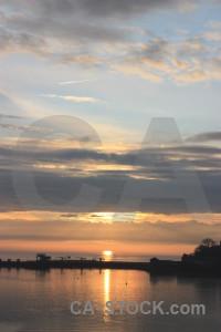 Sunrise cloud sun sunset sky.