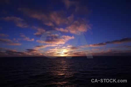 Sunrise sea sunset water cloud.