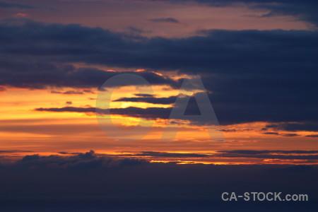 Sunrise sky cloud blue sunset.