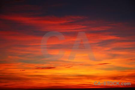 Sunrise spain europe sky cloud.