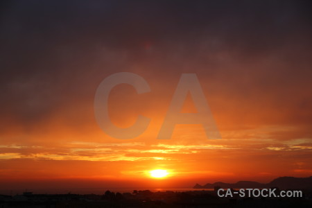 Sunrise sun europe spain sky.