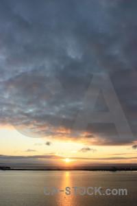 Sunrise sunset sun sky cloud.