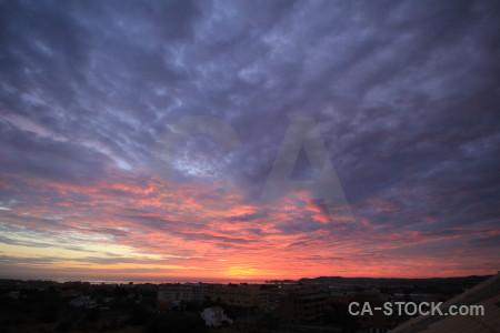 Sunset sky sunrise cloud.