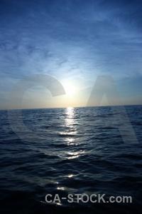 Sunset southeast asia reflection sun thailand.