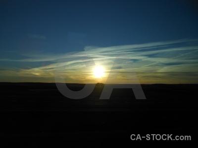 Sunset sun sunrise europe cloud.