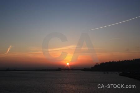 Sunset sunrise cloud sky.