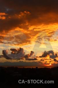 Sunset sunrise europe cloud sky.