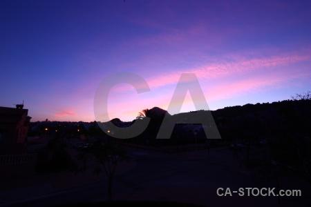Sunset sunrise spain sky europe.