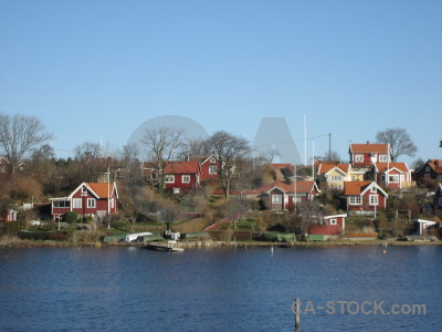Sweden building village europe karlskrona.