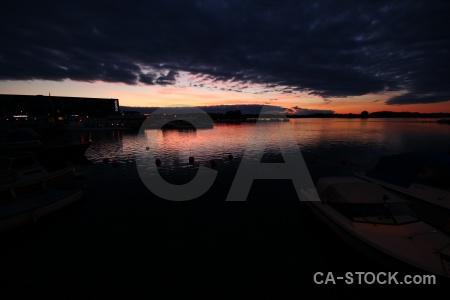 Sweden cloud europe reflection sunrise.
