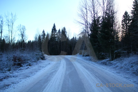 Sweden track karlskrona europe road.