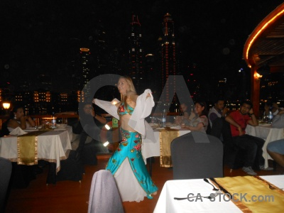 Table person uae western asia dancing.