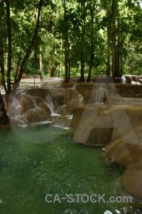 Tad se river luang prabang asia laos.