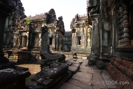 Temple asia column khmer southeast.