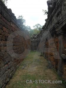 Temple banteay kdei siem reap cambodia khmer.